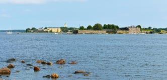 Suomenlinna sea fortress (1748) Royalty Free Stock Photos