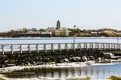 Suomenlinna-Seefestung auf den Inseln im Hafen von H Lizenzfreie Stockbilder