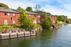 Suomenlinna in a summer day, Helsinki, Finland Royalty Free Stock Photography