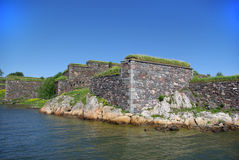 Suomenlinna - sweden sea fortress Stock Photos