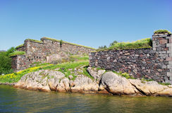 Suomenlinna - sweden sea fortress Royalty Free Stock Photography