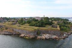 Suomenlinna, tot 1918 (Finse) Viapori, of (Zweedse) Sveaborg Stock Afbeelding