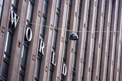 Suomi (赫尔辛基)世界贸易中心 库存照片