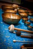 Suoni magici tibetani Immagine Stock Libera da Diritti