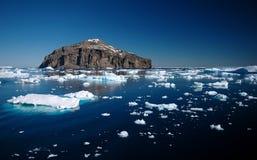 Suono antartico Immagini Stock