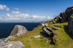 Suono di Dursey, penisola di Beara, sughero della contea, Irlanda fotografie stock
