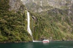 Suono dubbioso - Nuova Zelanda immagini stock