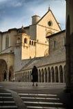 Suora a Assisi fotografia stock libera da diritti