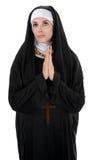 Suora di preghiera Immagine Stock Libera da Diritti