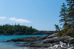 Supérieur de lac grand photographie stock libre de droits