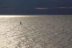 Sup surfingowiec Zdjęcia Stock