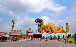 Supanburi of Thailand landmark Royalty Free Stock Photo