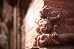 Suparna garuḠ rzeźba na ścianie Fotografia Stock