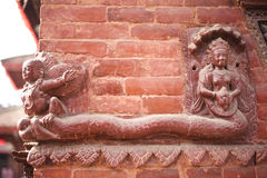 Suparna statue Stock Image