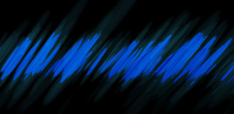 Super Abstract Lines  art and graphics with black background. Blue abstract lines graphic background wallpaper with black background Stock Photos