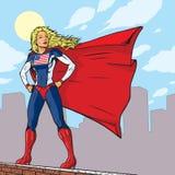 Super American Girl Stock Image