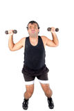 Super Athlete Royalty Free Stock Photo