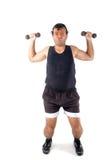 Super Athlete royalty free stock image