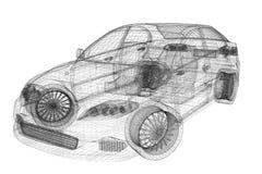Super auto Royalty-vrije Illustratie