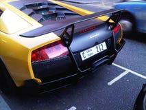 Super auto @ Knightsbridge Royalty-vrije Stock Afbeelding
