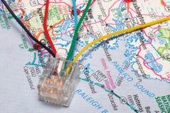 super autostrady informacji Obrazy Royalty Free