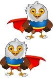 Super Bald Eagle Character - 1 royalty free illustration
