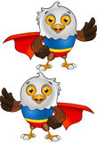Super Bald Eagle Character - 3 Royalty Free Stock Photos