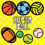 SUPER BALL Stock Photography