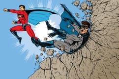 Super Battle stock illustration