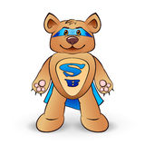 Super bear Royalty Free Stock Image