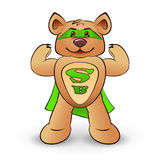 Super bear Royalty Free Stock Images