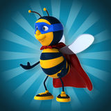 Super bee Royalty Free Stock Images