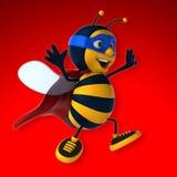Super bee Royalty Free Stock Photos