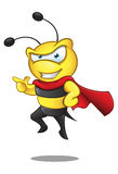 Super Bee - Pointing Royalty Free Stock Photo