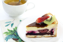 Super Berry Cake Stock Images