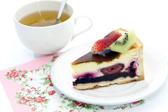 Super Berry Cake Royalty Free Stock Image