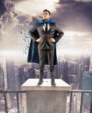 Super biznesmen Fotografia Stock