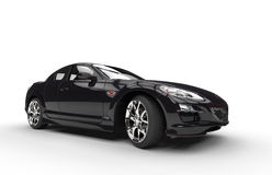 Super Black Car Royalty Free Stock Photography