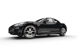 Super Black Car Stock Photos
