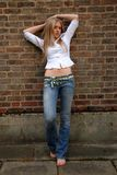 super blondynka Zdjęcie Stock
