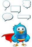 Super Blue Bird - Hands On Hips Stock Photos