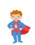 super bohatera dzieciak iii royalty ilustracja