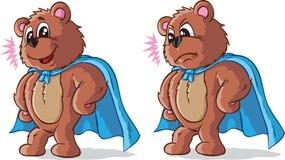 Super bohatera niedźwiedź Obraz Stock
