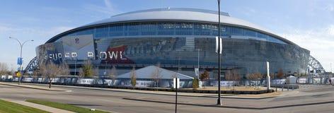 Super Bowl 45 - Cowboy-Stadion Stockbilder