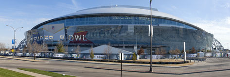 Super Bowl 45 - Cowboy Stadium Stock Images