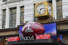 Super Bowl-Boulevard Lizenzfreie Stockfotografie