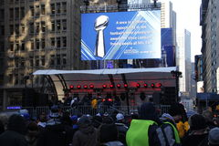 Super bowl boulevard Royalty Free Stock Image