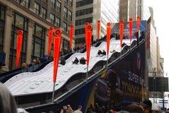 Super Bowl Boulevard - New York City Royalty Free Stock Photos