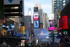 Super Bowl Boulevard - New York City Stock Image