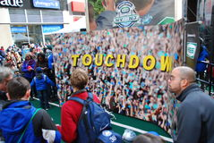 Super Bowl Boulevard - New York City Royalty Free Stock Images